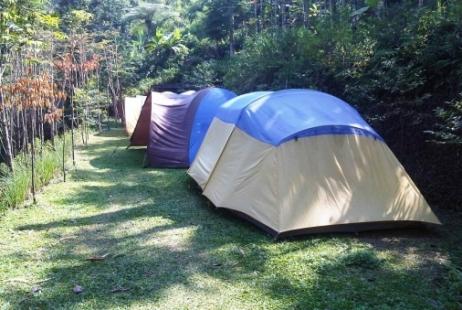 Outbound di Bogor dengan akomodasi tenda