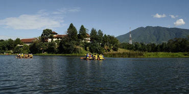 Lokasi Outbound  Lido Lakes